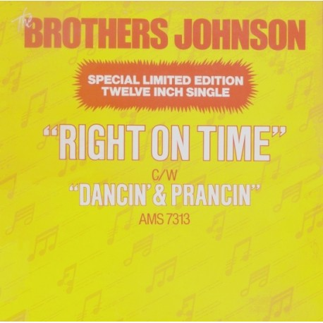 Brothers Johnson - Right on time / Dancin & Prancin