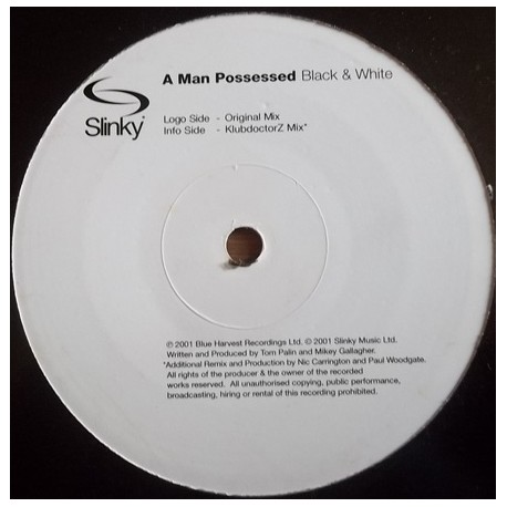 A Man Possesssed - Black & white (Original mix / KlubdoctorZ mix) Promo