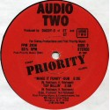 Audio Two - Top billin / Make it funky (Vocal mix / Dub) reissue