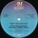 Afrika Bambaataa & The Soulsonic Force - Planet rock (Extended Version / Instrumental)