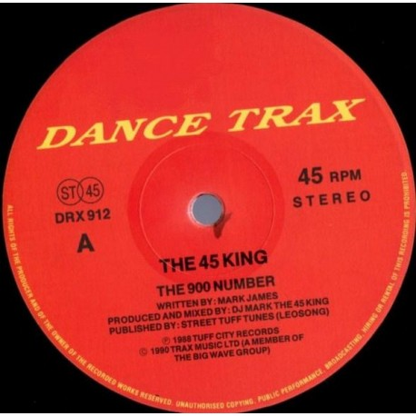 45 King - The 900 number (Original Version / Vocal Version) / The king is here