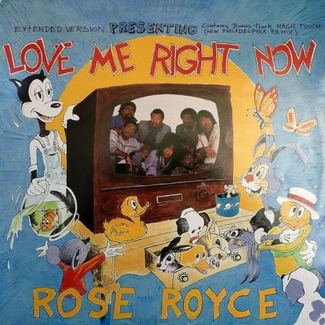 Rose Royce - Magic touch (Nick Martinelli & David Todd Philadelphia Remix) / Love me right now (Extended Version / Radio Edit)