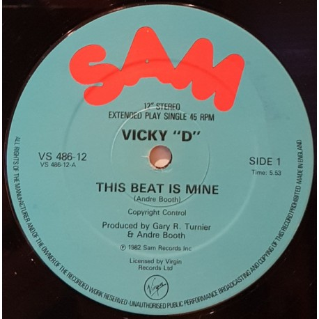 Vicky D - This beat is mine (Vocal mix / Instrumental)