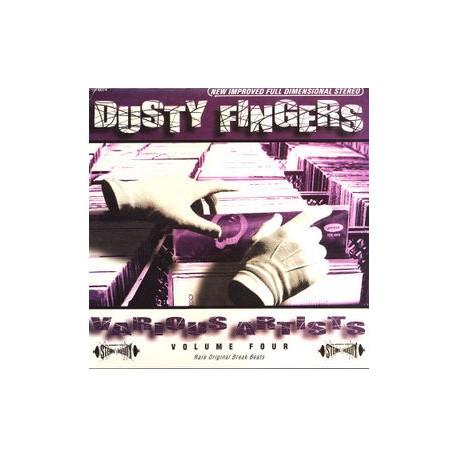 """Dusty Fingers Vol 4 (Rare Original Break Beats) - Compilation LP featuring Alain Goraguer """"Le bracelet"""" / Jack Arel """"Psychedelic"""