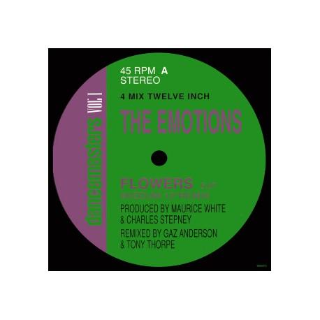 "Emotions - Flowers (Full Length Version / Wizdum 12"" Remix / Wizdum Edit / Sun mix)"