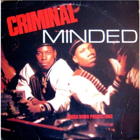 Boogie Down Productions - Criminal minded LP includes Poetry / 9mm / South Bronx / Super hoe / The bridge is over (10 Tracks)