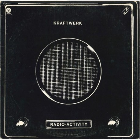 Kraftwerk - Radioactivity LP featuring Geiger counter / Radioactivity / Radioland / Airwaves / Intermission / News / The voice o