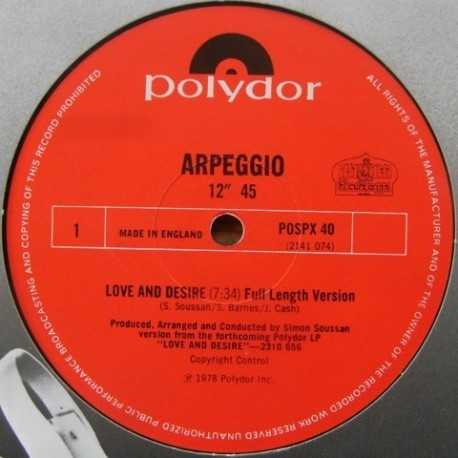 Arpeggio - Love and desire