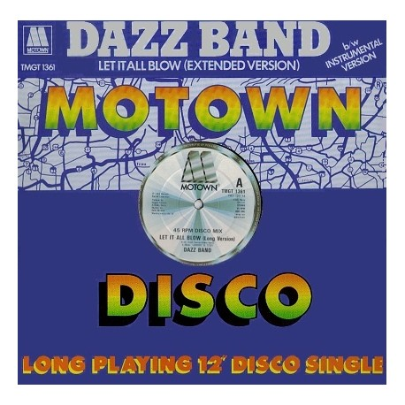 Dazz Band - Let it all blow (Long Version / Instrumental)