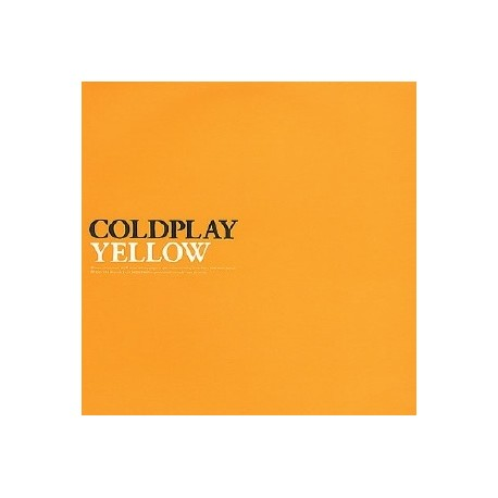 Coldplay - Yellow (Original) / Help is round the corner / No more keeping my feet on the ground (from the Safety EP/ April 98) P