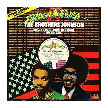 Brothers Johnson - Mista cool/Brother man/ It's you girl