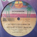 Bohannon - Lets start the dance III (2 Francois Kevorkian mixes) / Lets start II dance again (Rap version) / Lets start the danc