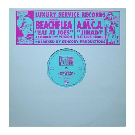 A Man called Adam / Beachflea - Jihad (Sensory Productions Remix) featuring Eddie Parker / Eat at Joe's (Extended12inch mix)