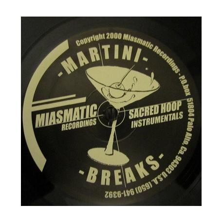 Martini Breaks - 10 Sacred Hoops Instrumentals.