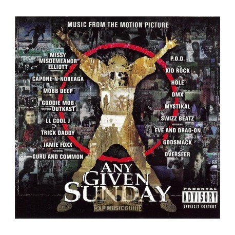 "Any Given Sunday (The Soundtrack) - 2LP featuring LL Cool J ""Shut em down"" / Mobb Deep ""Never goin back"" / Trick Daddy & Trina """
