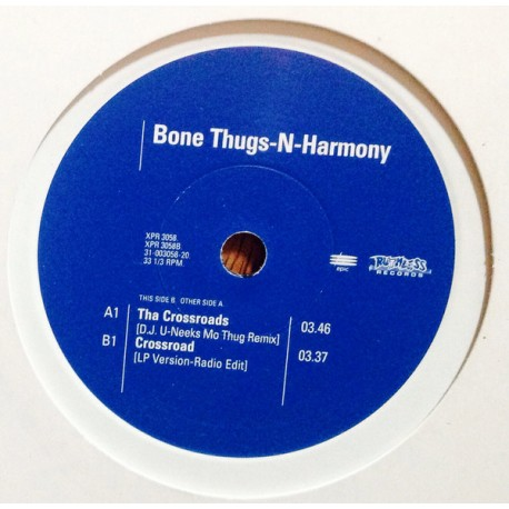 Bone Thugs N Harmony - The crossroads (DJ U Neeks Mo Thug remix / LP version radio edit) promo