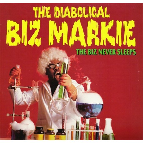 Biz Markie - The Biz never sleeps LP featuring Dedication / Check it out / The Dragon / Spring again / Just a friend / Shes not
