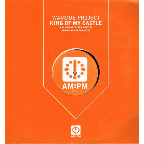 Wamdue Project - King of my castle (Bini & Martini 999 mix / Armin Van Buuren Remix / Roy Malones King mix)
