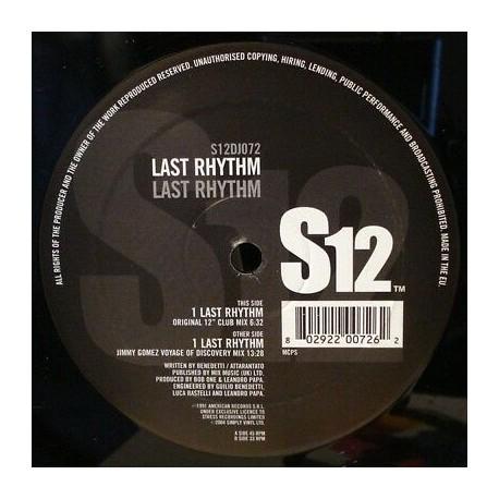 Last Rhythm - Last rhythm (Original Club mix / Jimmy Gomez Voyage Of Discovery mix)