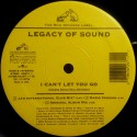 Legacy of Sound - I cant let you go (JJs International Club Mix / Radio Version / Original Album Version / Classic Club Mix / Vo
