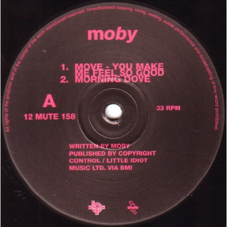 Moby - Move - The EP