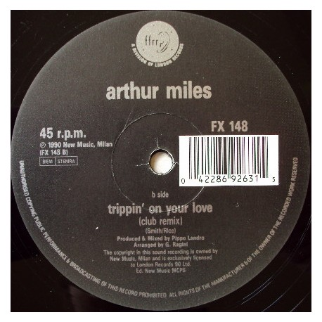Arther Miles - Helping hand (Club mix / Incisive Remix) Balearic house classic.