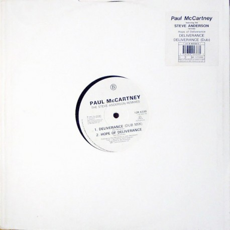 Paul McCartney - Deliverance (Brothers In Rhythm Extended mix / Brothers In Rhythm Dub / Hope Of Deliverence) Promo
