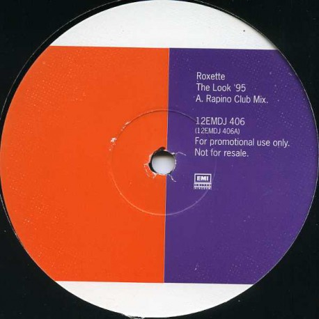 Roxette - The Look 95 (Rapino Dub / Chaps Donna Bass mix) Promo