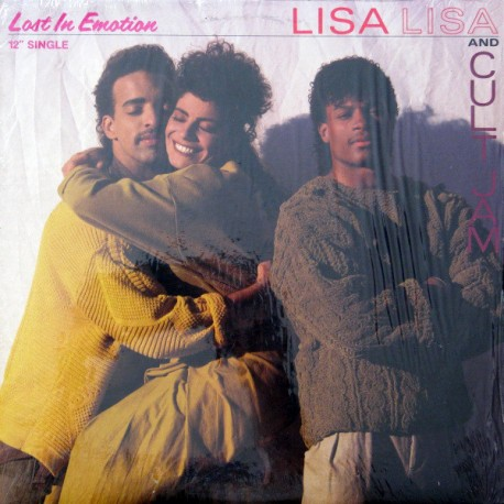 Lisa Lisa And Cult Jam - Lost in Emotion (F F Remix) / Emotion Lost (Can't Find Myself Mix)