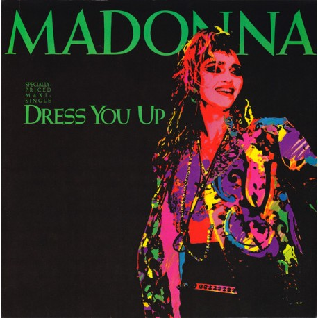 "Madonna - Dress you up (12"" Formal mix / Casual Instrumental) / Shoo bee doo"