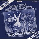 Diana Ross & Michael Jackson - Ease on down the road (US Discomix) / Poppy girls