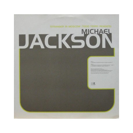 Michael Jackson - Stranger in Moscow (Todd Terry In House Club mix / TNT Frozen Sun mix / LP Version) Promo