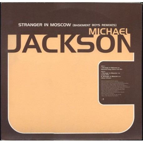 Michael Jackson - Stranger in Moscow (LP Version / Basement Boys Club mix / Basement Boys Lonely Dub) Promo