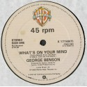 George Benson - What's on your mind (Full Length Version) / Turn out the lamplight