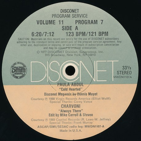 Charvoni / Paula Abdul / Royalty / Erotic House Boyz - Always there / Cold hearted / Baby gonna shake / I can make you feel