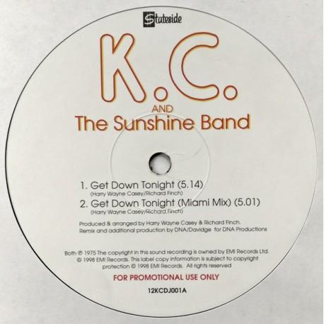 KC & The Sunshine Band - Get down tonight (Original 12inch version / DNA Miami Remix) / Thats the way I like it (Original 12inch