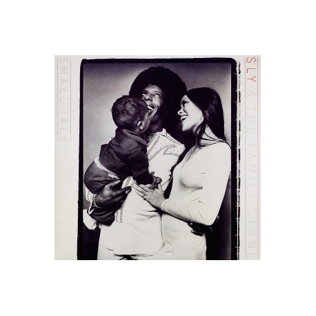 Sly & The Family Stone - Small talk LP featuring Small talk / Say you will / Mother beautiful / Time for livin / Cant strain my