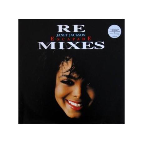 Janet Jackson - Escapade (CJ Mackintosh & Dave Dorrell MAARS mixes) Hippiapolis mix / Hippiapolis In Dub / One Nation Under A Rh