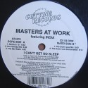 Masters At Work feat India - I can't get no sleep (KenLou 12inch mix / Her Fantasy mix / The Bar Beats / Down Low mix / Down Low