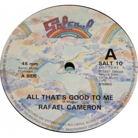 Rafael Cameron - All thats good to me / Funtown USA