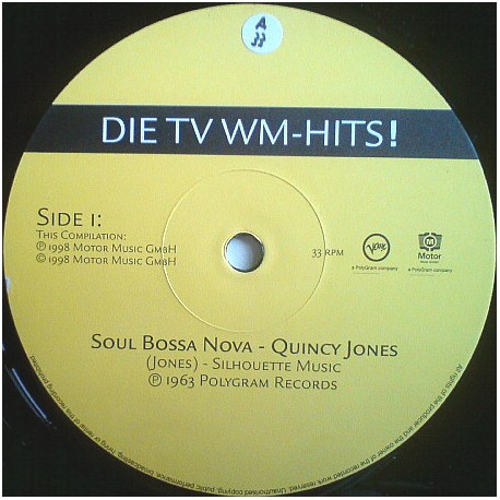 Quincy Jones / Tamba Trio - Soul Bossa Nova / Mas Que Nada