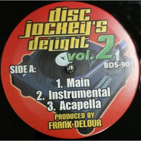 Disc Jockeys Delight - Volume 2 (Main mix / Instrumental / Acappella)