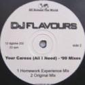 DJ Flavours - Your caress (Original mix / Disco Mission mix / Global mix / Homework Experience mix) Vinyl Promo
