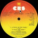 Nick Straker Band - A walk in the park (5.00 Disco mix) / Leaving on the midnight train (6.03) / Play the fool (3.46)