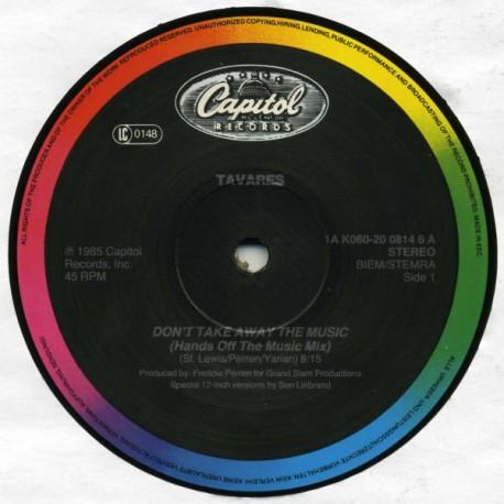 Tavares - Don't take away the music (Ben Liebrand Hands Off The Music mix) / More than a woman (Ben Liebrand Extended Remix)