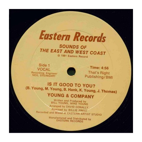 Young & Company - Its it good to you (Vocal / Instrumental)