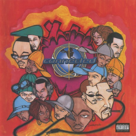 """Connected (2LP) - Compilation 2LP featuring Channel Live """"Red rum"""" / Blackalicious """"Touch the stars"""" / Ultramagnetic MCs """"Its al"""