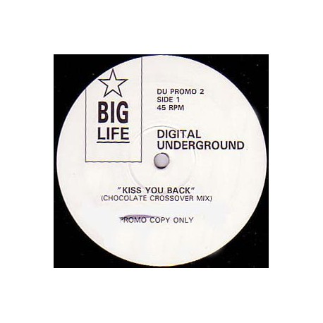 Digital Underground - Kiss you back(2 mixes) promo