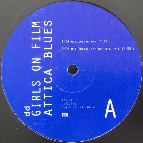 Duran Duran - Girls on film (Attica Blues 16 Millimetre mix / 16 Millimetre Instrumental / Attica Blues 8 Millimetre mix / 8 Mil