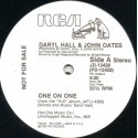 Daryl Hall & John Oates - One on one (Long version) one sided promo